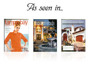 L.C.S. As Seen In Tampabay, House Trends, and Florida Coastal Magazines